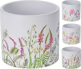 Motivo floreale Vaso di fiori Do it + Garden 657613100000 Colore Bianco Taglio ø: 13.5 cm x A: 12.5 cm N. figura 1