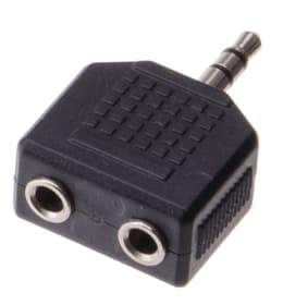 Audio Adapter Stereo Klinkenbuchse Audio Adapter Schwaiger 613129600000 Bild Nr. 1