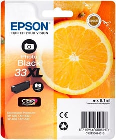33XL Claria Premium photo nero Cartuccia d'inchiostro Canon 795845200000 N. figura 1