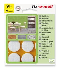 Filzgleiter 3 mm / Ø 25 mm 9 x Filzgleiter Fix-O-Moll 607067500000 Bild Nr. 1