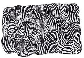 Serviette éponge Zebra noir-blanc 50x100cm Kleine Wolke 674141300000 Photo no. 1