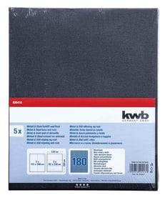 Toile émeri bleu en vrac GR. 180, 5 pcs. kwb 610552900000 Photo no. 1