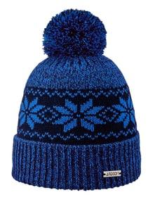 Pudelmütze Stern Mütze Areco 472388949040 Grösse 49 Farbe blau Bild-Nr. 1