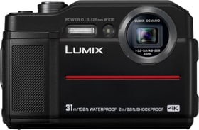 LUMIX DC-FT7 noir Appareil photo sous-marine Panasonic 785300137412 Photo no. 1