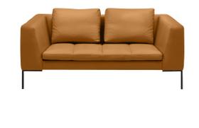 BADER 2er-Sofa 405686120355 Grösse B: 174.0 cm x T: 105.0 cm x H: 80.0 cm Farbe Cognac Bild Nr. 1