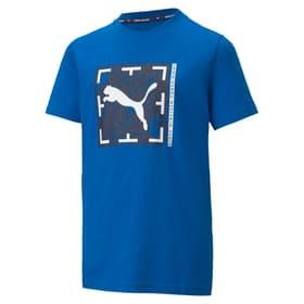 Active Sports Graphic Tee B T-shirt pour garçon Puma 466996817646 Couleur royal Taille 176 Photo no. 1