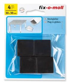 Steckgleiter 30 x 30 mm 4 x Fix-O-Moll 607086000000 Bild Nr. 1