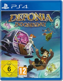 PS4 - Deponia Doomsday D Box 785300154401 N. figura 1