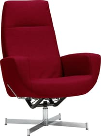 CHARLENE Fauteuil 402435507030 Dimensions L: 77.0 cm x P: 80.0 cm x H: 105.0 cm Couleur Rouge Photo no. 1