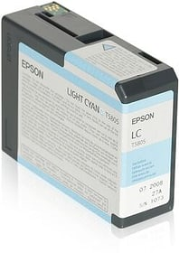 T5805 light cyan cartuccia d'inchiostro Epson 798282400000 N. figura 1