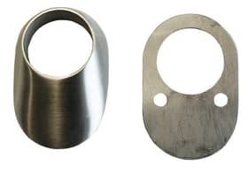 12 mm, oval Schutzrosette Alpertec 614074700000 Bild Nr. 1