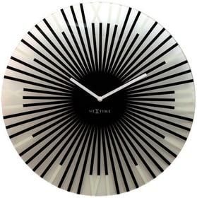 Horloge Murale Bâtons Diamètre Noir Horologe murale NexTime 785300140297 Photo no. 1
