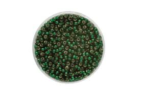 Rocailles 2,6mm Silbereinzug d'grün 17g 608136600000 Bild Nr. 1