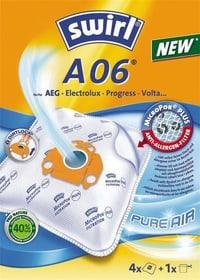 Staubsaugerbeutel A06 (VO74) 4Stk Staubbeutel Swirl 9000029300 Bild Nr. 1
