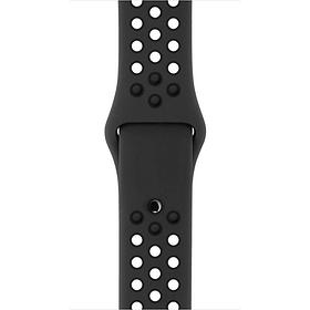 42 mm Nike Sportarmband, Anthrazit/Schwarz – S/M und M/L