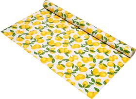 TOPAS vendue au métre 450531163050 Couleur Jaune, Vert, Blanc Dimensions L: 140.0 cm Photo no. 1