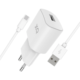 Travel Charger 2.4A Single USB EU- type-C 2 Ladegerät XQISIT 798647500000 Bild Nr. 1