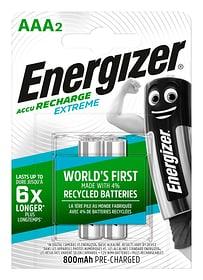 NiMH-Akku Extreme AAA 800mAh (2Stk.) Akku Batterie Energizer 704764700000 Bild Nr. 1
