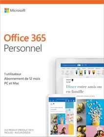 Office 365 Personnel 2019 PC/Mac (F) Physique (Box) 785300139308 Photo no. 1
