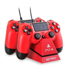 Charge Play & Charge con Desktop Stand rosso Stazione di ricarica 4gamers 785300124155 N. figura 1