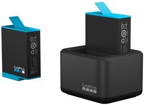 Dual Battery Charger + Battery Hero 9 GoPro Zubehör GoPro 785300156192 Bild Nr. 1