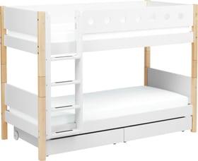 WHITE Etagenbett Flexa 404750300000 Grösse B: 109.0 cm x T: 210.0 cm x H: 154.0 cm Farbe Birke Bild Nr. 1