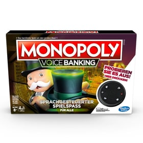 Monopoly Voice Banking (DE) Jeux de société Hasbro Gaming 748964690000 Langue _DE Photo no. 1