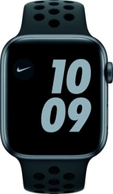 Watch Nike Series 6 GPS 44mm Space Gray Aluminium Anthracite/Black Nike Sport Band Smartwatch Apple 798764300000 Bild Nr. 1