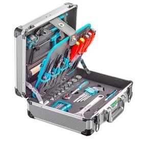 """Coffre à outils en alu """"PRO COMPACT"""" 106-pcs.$."""