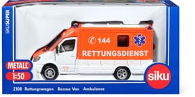 Rettungswagen 144 1:50 Modellfahrzeug Siku 744161900000 Bild Nr. 1