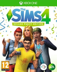 Xbox One - The Sims 4 - Deluxe Party Edition Box 785300130423 Photo no. 1