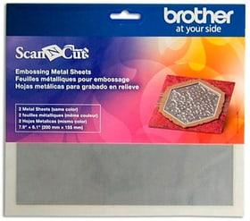 Papier de gaufrage Scanncut Metallblatt argenté Brother 785300142674 Photo no. 1