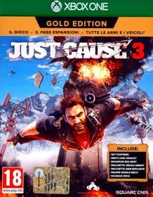 Xbox One - Just Cause 3 Gold Edition Box 785300122061 N. figura 1