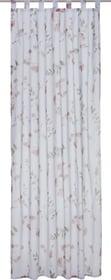 GRACIA Rideau prêt à poser jour 430285821836 Couleur Rose foncé Dimensions L: 150.0 cm x H: 250.0 cm Photo no. 1