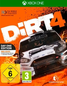 Xbox One - DiRT 4 Day One Edition Box 785300122308 Photo no. 1