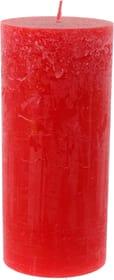 Zylinderkerze Rustico Kerze Balthasar 656207400009 Farbe Rot Grösse ø: 9.0 cm x H: 20.0 cm Bild Nr. 1