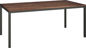 ALEXIS II Table 403700415014 Dimensions L: 180.0 cm x P: 90.0 cm x H: 75.0 cm Couleur Noyer Photo no. 1