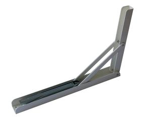 Stufenklappkonsole Weiss 200 mm Wandkonsolen 606075400000 Bild Nr. 1