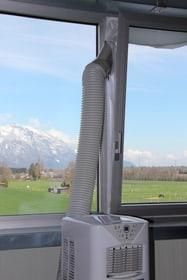 Kibernetik Klimagerät Fensterabdichtung für mobile Klilmageräte, weiss