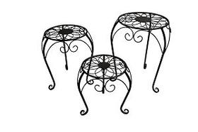 Tabouret décoratif ensemble de 3 Tabouret décoratif 657350600000 Photo no. 1