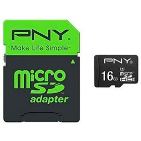micro SDHC Card High Performance 80MB/s 16GB inkl. SD Adapter