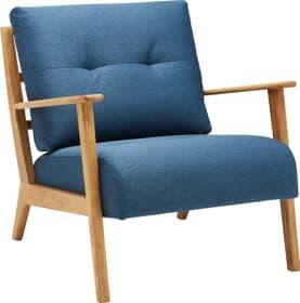 FAUST Sessel 402465200140 Grösse B: 76.0 cm x T: 80.0 cm x H: 78.0 cm Farbe Blau Bild Nr. 1