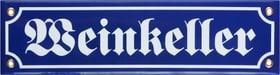 Emailschild Weinkeller 605069200000 Bild Nr. 1