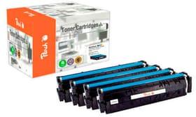 Multipack Toner HP Nr. 203X M/Y/BK/C Cartouche de toner Peach 785300154268 Photo no. 1