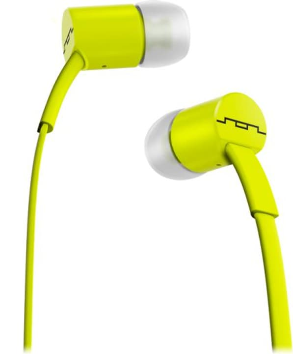 Jax Single Button - Lime Cuffie In-Ear SOL REPUBLIC 785300132152 N. figura 1