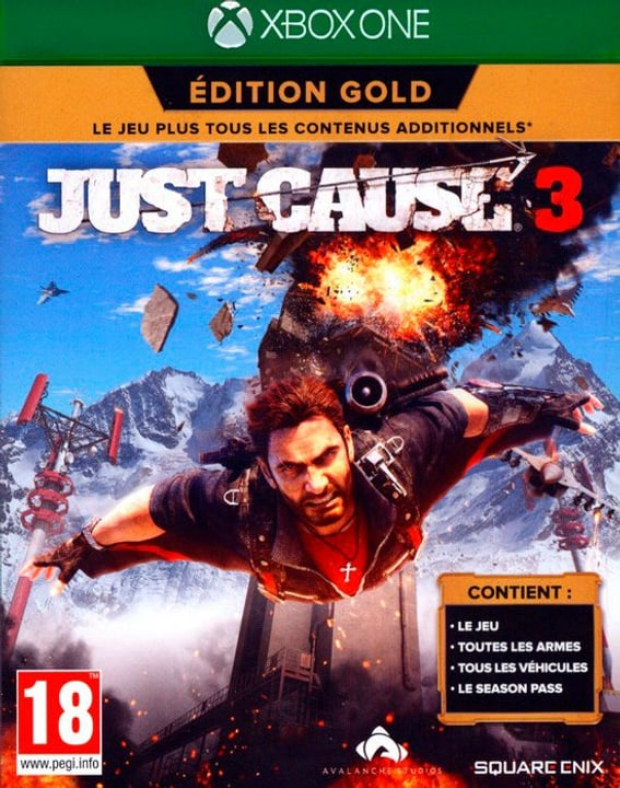 Xbox One - Just Cause 3 Gold Edition Box 785300122084 Photo no. 1