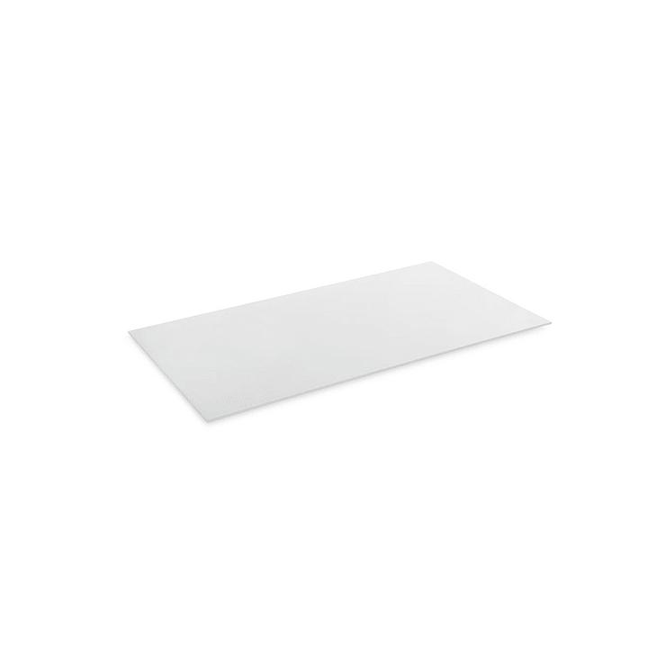 ZILO Glasplatte 362020748516 Grösse B: 44.5 cm x T: 36.2 cm x H: 1.0 cm Farbe Weiss Bild Nr. 1