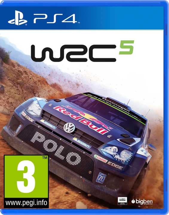 PS4 - WRC 5 785300121633 Photo no. 1