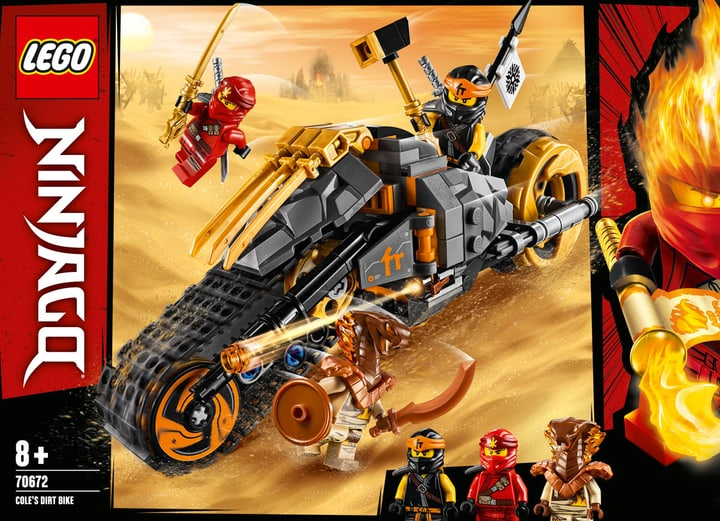 LEGO NINJAGO 70672 La moto tout-ter 748717000000 Photo no. 1