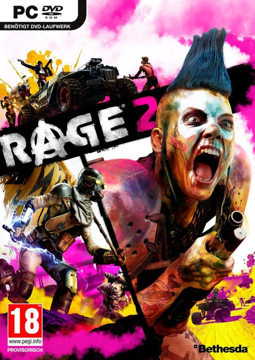 PC - RAGE 2 Box 785300142302 Sprache Deutsch Plattform PC Bild Nr. 1